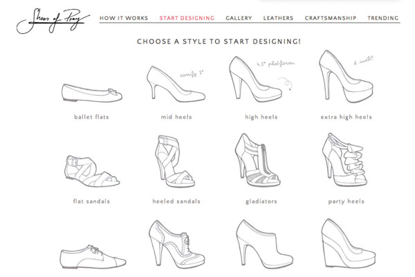 鞋子简笔画 步骤