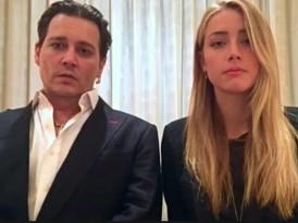 Johnny Depp夫婦 拍片認錯