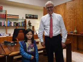 搞笑廢票 / 總理與女孩