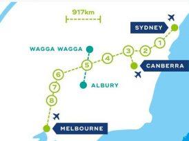 110分鐘車程 8大樞紐城鎮  墨爾本悉尼高鐵全新方案