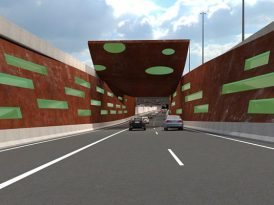 隧道 + 天橋 55億建西區幹線