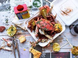 蟹料理進軍墨市酒吧  Miss Katie's Crab Shack x Ding Dong Lounge