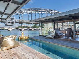 漂浮在塞納河上的水上酒店 巴黎OFF Paris Seine