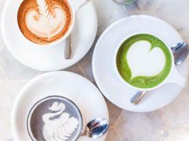 顏色Latte新成員 黑天鵝芝麻咖啡