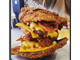 紋上漢堡紋身  送你一世免費Burger?