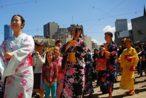 聯邦廣場刮起東瀛風  墨爾本日本夏祭