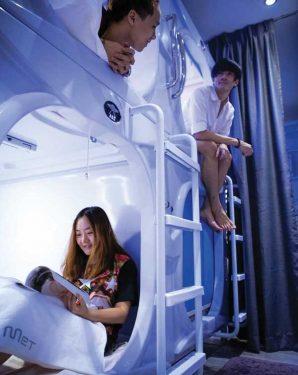新加坡廉遊之選  Met a Space Pod太空艙概念膠囊酒店
