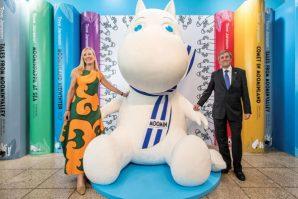 慶祝芬蘭獨立100年姆明原畫展首爾舉行
