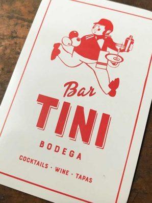 MoVida家族新成員  西班牙式小酒館  Bar Tini塗鴉名巷登場
