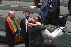 澳洲同性婚姻法正式生效   首場婚禮最快1月9日舉行