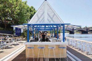 夏季期間限定 漂浮在雅拉河上的餐廳Arbory Afloat