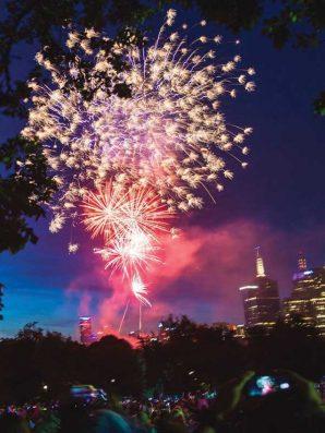 除夕夜倒數迎新年 墨爾本最大型煙花匯演