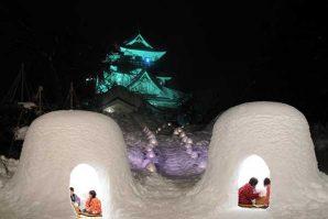冰雕、雪屋、激光騷  日本雪祭陸續登場